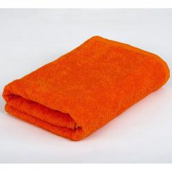 Полотенце махровое Оранжевое LOTUS