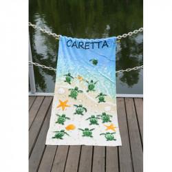Полотенце пляжное Caretta Велюр LOTUS