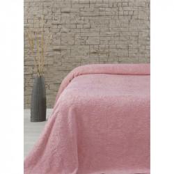 Простынь махровая Sun Розовый Lotus