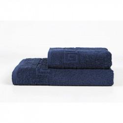 Полотенце Бордюр lacivert синее Iris Home