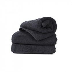 Полотенце Черное 40*70 (16/1) 400 г/м² LOTUS