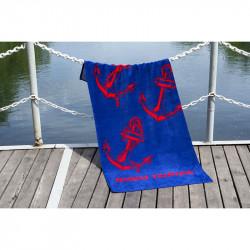 Полотенце пляжное велюр Marina Yachting LOTUS