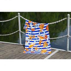 Полотенце пляжное велюр Shells LOTUS