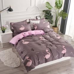 Постельное белье на резинке Фламинго Бязь Люкс MERISET