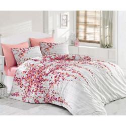 Комплект постельного белья Majoli Time Pink Pembe Majoli