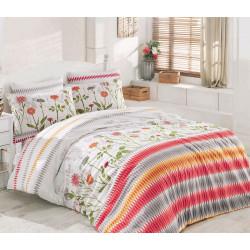 Комплект постельного белья Majoli Greenhouse Kirmizi Majoli