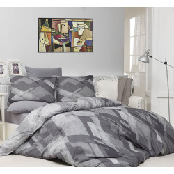 Комплект постельного белья Majoli Mosaic Gri Majoli