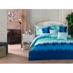Постельное белье Vibe v3 Blue Ранфорс Majoli