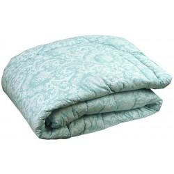 Одеяло зимнее 02 ШУ Шерсть Голубое РУНО