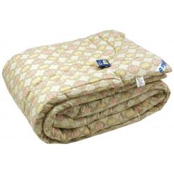 Одеяло зимнее 116 ШУ Шерсть Бежевое РУНО