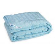 Одеяло зимнее 02ШК+У Комфорт плюс Голубое Шерсть