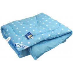 Одеяло зимнее 02ШУ Голубое Шерсть РУНО