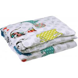 Одеяло детское демисезонное 137 Cat Силикон РУНО
