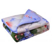Одеяло зимнее 137ШУ Summer flowers Комфорт Шерсть