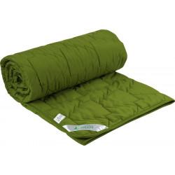 Одеяло летнее 52 Зеленое Силикон РУНО
