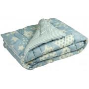 Зимнее шерстяное одеяло 116 ШУ Blue star РУНО
