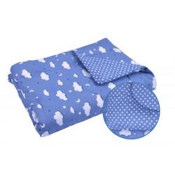 Детское демисезонное одеяло 02 ХБУ Голубое облако РУНО