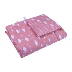 Детское демисезонное одеяло 02 ХБУ Розовое облако РУНО