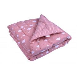 Детское демисезонное одеяло 02 СЛУ Розовое облако  РУНО