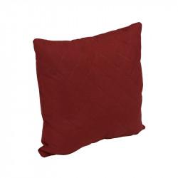 Подушка декоративная Бордовый ромб РУНО