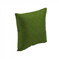 Подушка декоративная Зеленый ромб РУНО
