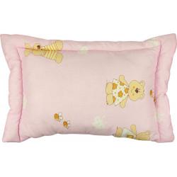Детская подушка 02СЛУ Розовая РУНО
