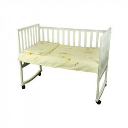 Детское постельное Малыш Медвеженок с шариком беж Бязь РУНО
