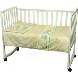 Детское постельное Малыш Мышка с сыром беж Бязь РУНО