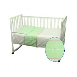 Детское постельное Лапушка салатовое Сатин с аппликацией РУНО