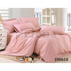 Однотонное постельное белье Бязь Светло-розовое SELENA