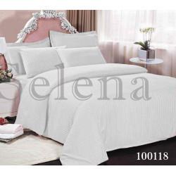 Белое постельное белье Бязь SELENA