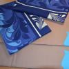 Постельное белье на резинке Триада Голубое Бязь SELENA