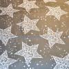 Постельное белье Звезды серые Бязь SELENA