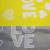 Постельное белье Love Серо-Желтый Бязь SELENA