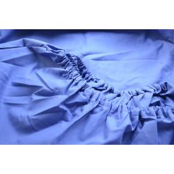 Простынь на резинке Бязь Синее SELENA