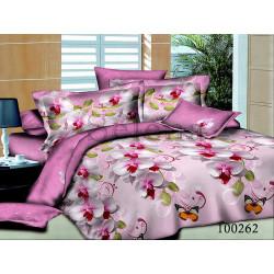 Постельное белье Орхидея розовая Бязь SELENA