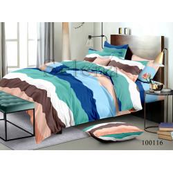 Постельное белье Разноцветные полосы Бязь SELENA