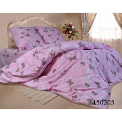 Постельное белье Бабочки Pink Бязь Light SELENA