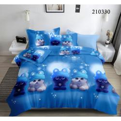 Подростковое постельное белье Лунные котята Ранфорс SELENA
