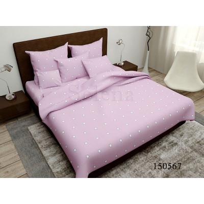 Постельное белье Утренние звезды pink Бязь Light SELENA