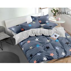 Подростковое постельное белье Цветные звезды 2 Сатин SELENA