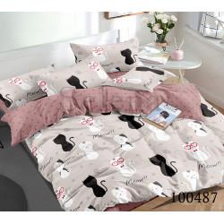 Подростковое постельное белье Мартовские котята Бязь SELENA