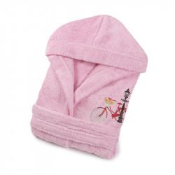 Халат детский Bicycle розовый LOTUS