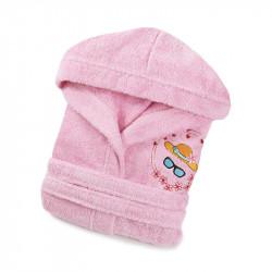 Халат детский Hat розовый LOTUS
