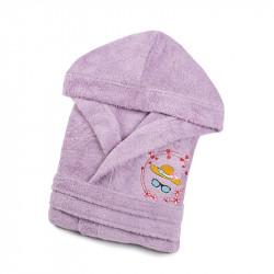 Халат детский Hat сиреневый LOTUS