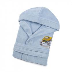 Халат детский Jeep голубой LOTUS