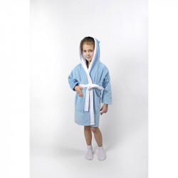 Халат детский Зайка новый голубой LOTUS