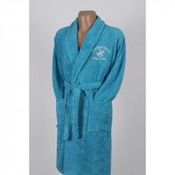 Халат 355BHP1712 turquoise бирюзовый Beverly Hills Polo Club