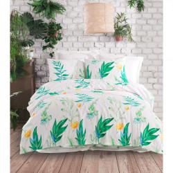 Постельное белье Arta yesil зеленое ранфорс Enlora Home