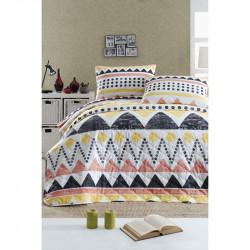 Покрывало стеганое с наволочкой Bettina sari разноцветный Enlora Home